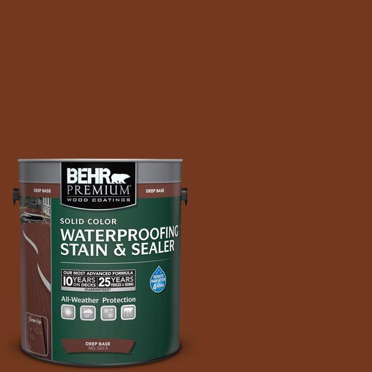 Woodbridge Home Exteriors: BEHR Premium 1 Gal. #SC-116 Woodbridge Solid Color