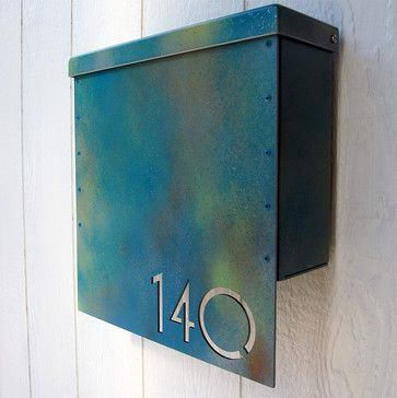 Address Plaques - Eclectic - Mailboxes - Indianapolis - Moda Industria
