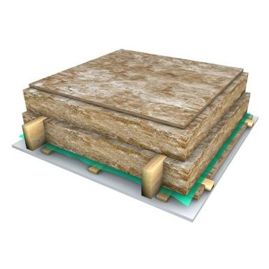 Knauf Insulation Attic slab solutions. ArchiCAD