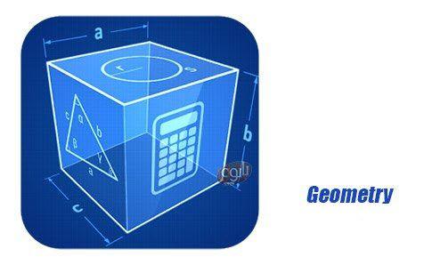 حاسبة هندسية للموبايل لحساب جميع الاشكال الهندسية Geometry Calculator v1.7 - التطبيقات الهندسية