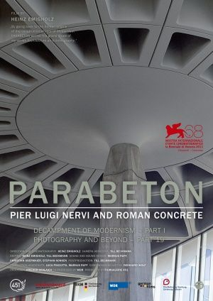 Book to get:  Parabeton:  Pier Luigi Nervi and Roman Concrete