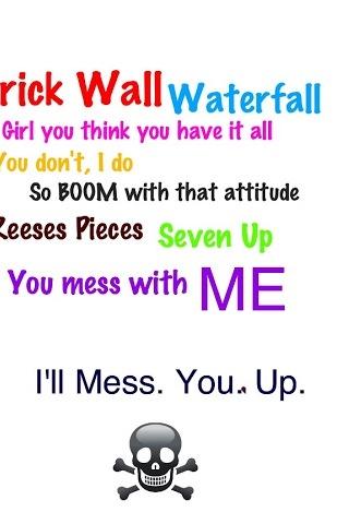 Mess with me I mess u up⬆