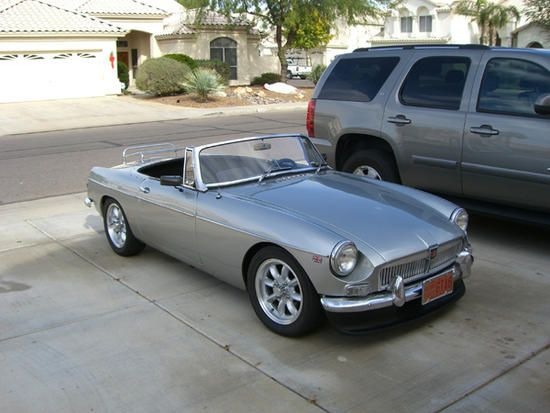 Mg midget paint colors