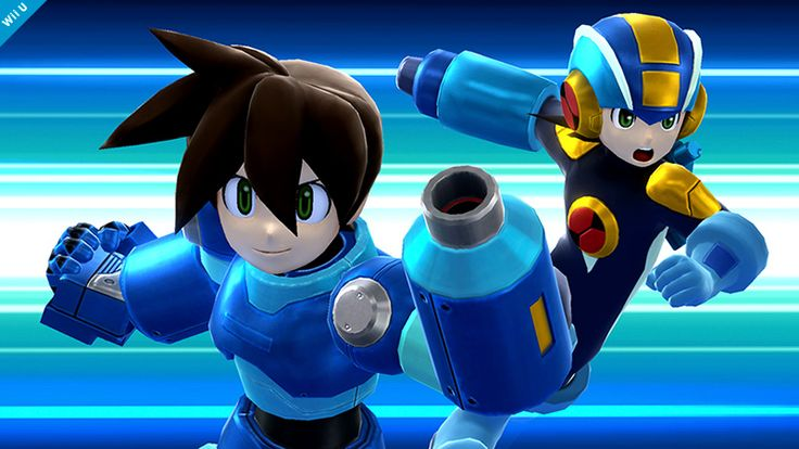 """""""Mega Man.EXE and Mega Man Volnutt!! They only appear for a split second, but the modeling is so detailed. And if that's the case…!"""""""