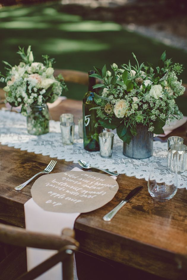 Modern Wooded Wedding Inspiration | Red Lilly Photography