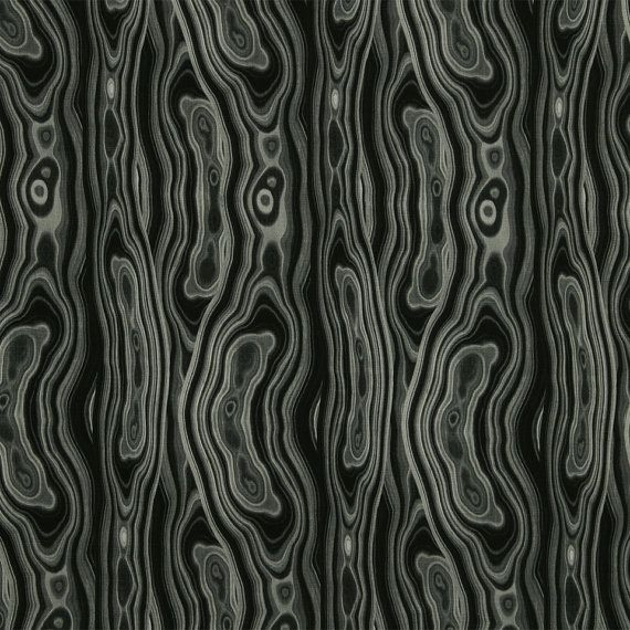 Black White Abstract Upholstery Fabric for Furniture - Contemporary Black Curtain Material - Grey Home Decor - Black Cotton Pillow Cover