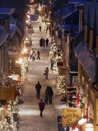 Historic Quebec City, Canada http://www.travelandtran...
