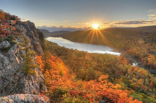 Porcupine Mountains, Michigan's Upper Peninsula