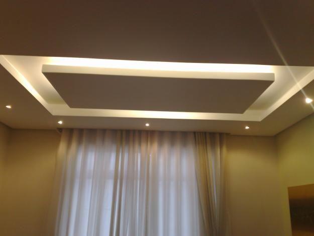 cortineiro de gesso - iluminação