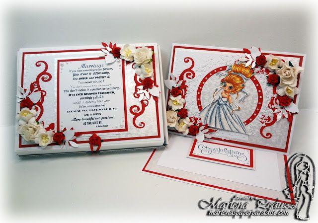 Wedding theme. Created by Marlena. Thème mariage. Création de Marlena.