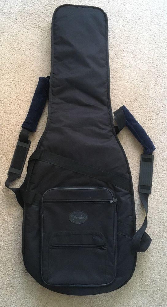 d135a38645 FENDER Deluxe Padded Guitar Bag/Soft Case-Stratocaster/Telecaster-Gig Bag