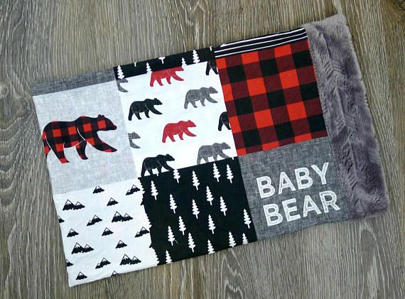 This 12x16 Buffalo Plaid Minky Pillowcase is the cutest buffalo plaid toddler pillowcase for a baby, toddler, or child. It matches my baby bear or little man blanket perfectly. So soft for your baby lumberjack, and great as a baby shower gift. This Bufflo Check 12 x 16 faux quilt pillowcase means that its not actual patchwork. Its one piece. Ships from my smoke free clean home studio. Sizes are approximate and made to order. Pillowcase is minky. This item is made to order. Please allow 3-4…