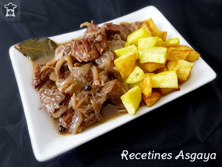 Beef in Onion Sauce / Aguja de Ternera Encebollada_RECETINES ASGAYA: