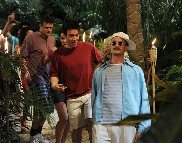Neil Patrick Harris, Jason Segel and Josh Radnor in How I Met Your Mother, Ep- Weekend at Barneys :) #himym
