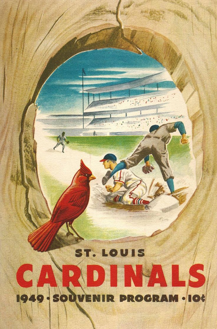 1949 St. Louis Cardinals Program cover