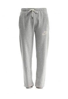 Брюки спортивные Nike, цвет: серый. Артикул: NI464EWDRR83. Женская одежда