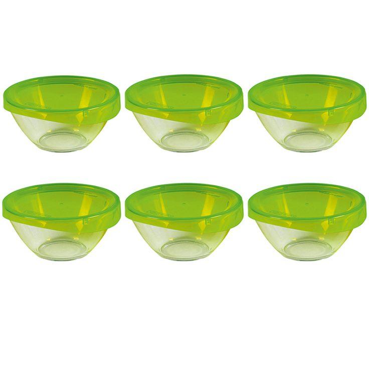 6er-Set Glasschale Keep n Bowl 23 cm mit Deckel Jetzt bestellen unter: http://www.woonio.de/produkt/6er-set-glasschale-keep-n-bowl-23-cm-mit-deckel/