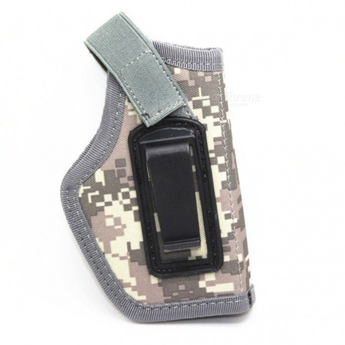 IWB Hidden Form Nylon Tactical Holster - ACU Camouflage