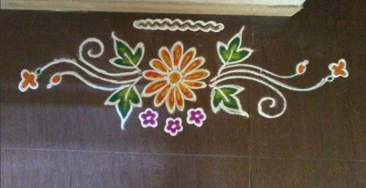 Rangoli Designs Simple and Easy