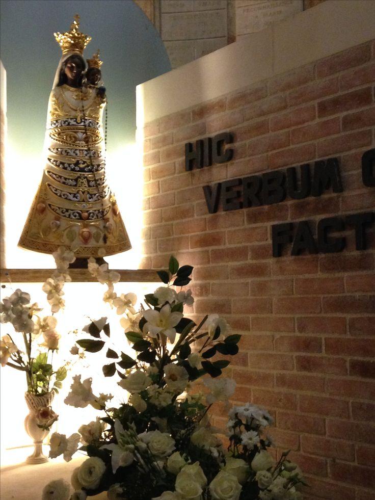 Vierge noire ... Italie  Liorette ...