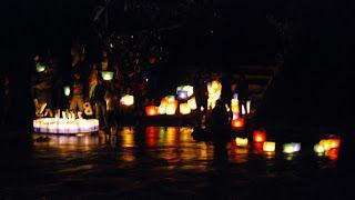 Malam Tahun Baru Sungai Serayu Dibanjiri Lampion Air | gatotkoco