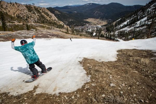 """When California officials measured the state's snowpack in April, they declared it was at the lowest level in 50 years as a four-year drought dragged on. A new analysis published Monday in the journal Nature Climate Change shows that the snowpack, which came in at just 6 percent of average, was at its lowest in five centuries. """"This record low is unprecedented over 500 years,"""" said study author Soumaya Belmecheri, a postdoctoral researcher."""
