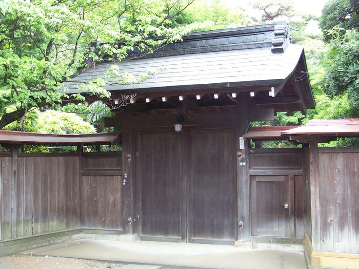 Traditional Japan in urban Tokyo.