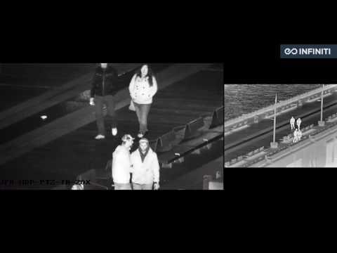 Visible & Thermal Infrared Camera  Night Vision Surveillance 1000mm zoom + Laser IR Illumination - YouTube