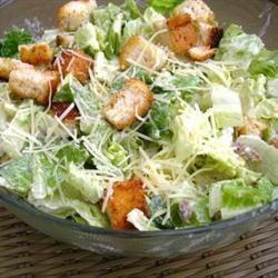 Classic Caesar Salad Dressing Salad