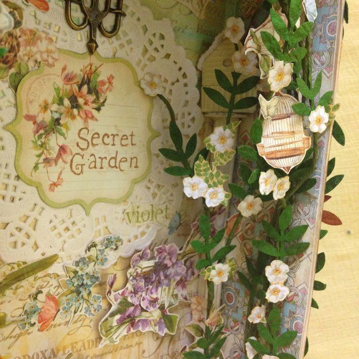 Shadow Box Secret Garden | My Butterfly Garden