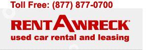 Los Angeles, CA | cheap Car Rental - California |Rent-A-Wreck