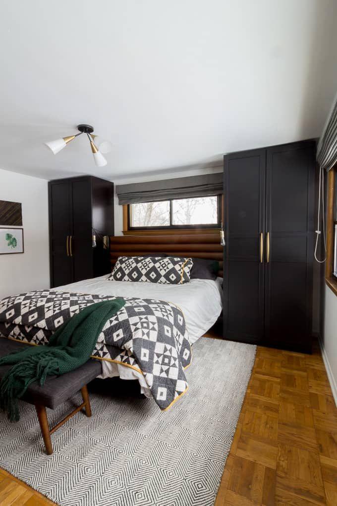. Modern Master Bedroom with Wardrobes   Bedroom   Ikea bedroom