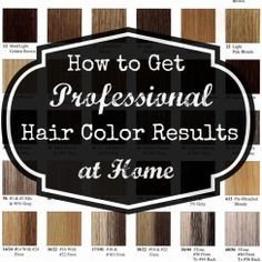 Professional At-Home Hair Color