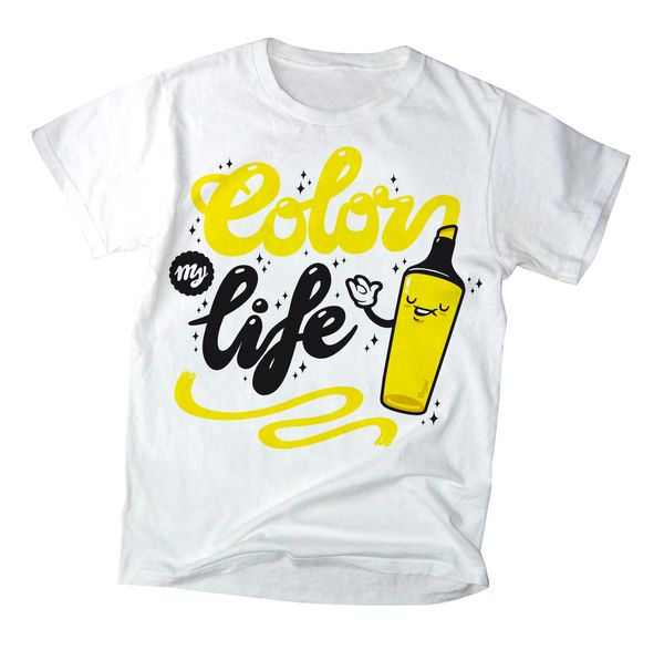 Fresh Tee....i love em clean and with great Typography