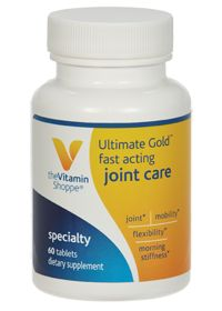 the Vitamin Shoppe Ultimate Gold Fast Acting Joint Care, 60.0 Each , Tablets
