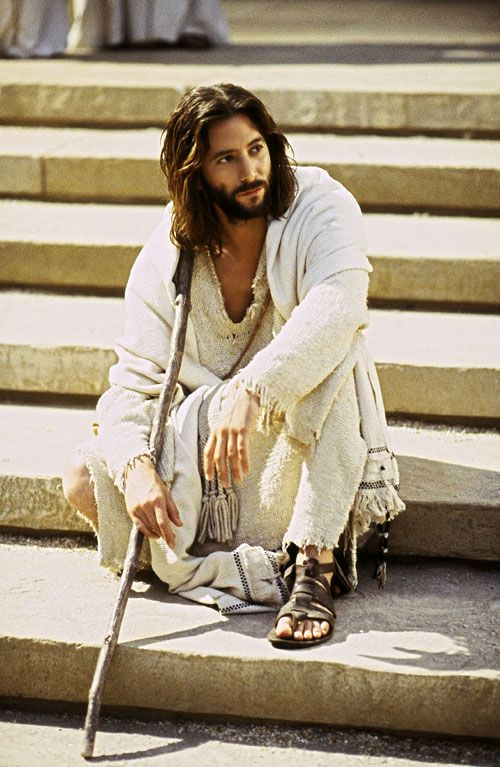 The Gospel of John.  Excellent film starring Henry Ian Cusick as Jesus, narrated by Christopher Plummer.