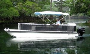 Groupon - $ 119 for an Eight-Hour Pontoon-Boat Rental for Up to Eight from Belle Harbour Boat Rentals ($250 Value) in Tarpon Springs. Groupon deal price: $119