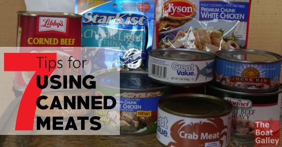 Using Canned Meat Camping Mealsbackng