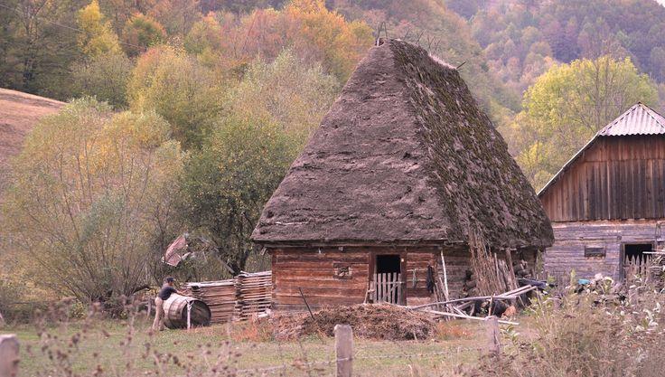 Traditional stable, Apuseni Mountain, Intregalde, Alba County Photo: Anca Tatay