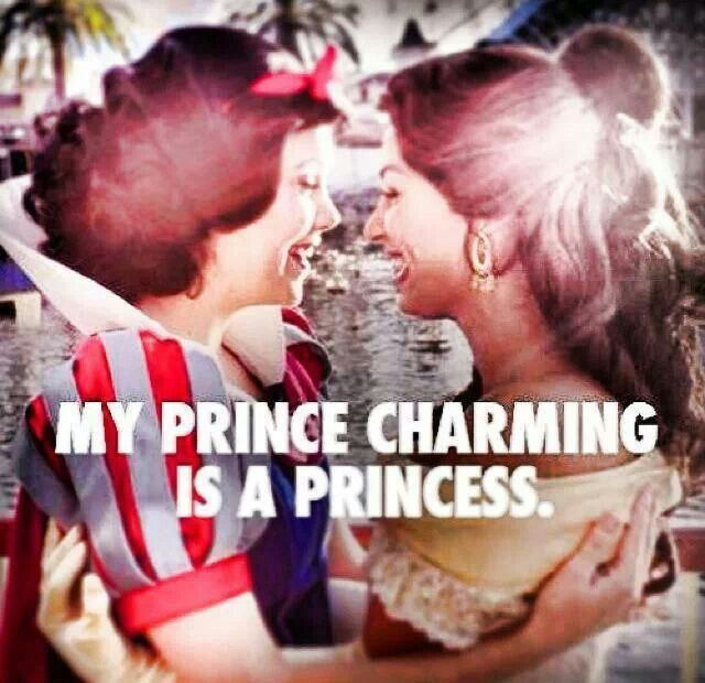 Lesbain and proud...my prince charming is a princess ! And i will always be proud ! Never bw ashamed of who you are ! Love is love and should be equal