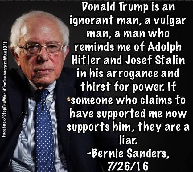 Bernie ... once again ... squarely hits the nail on the head!
