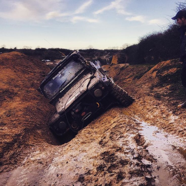 Now this dude just MIGHT just be Stuck in the mud! Land