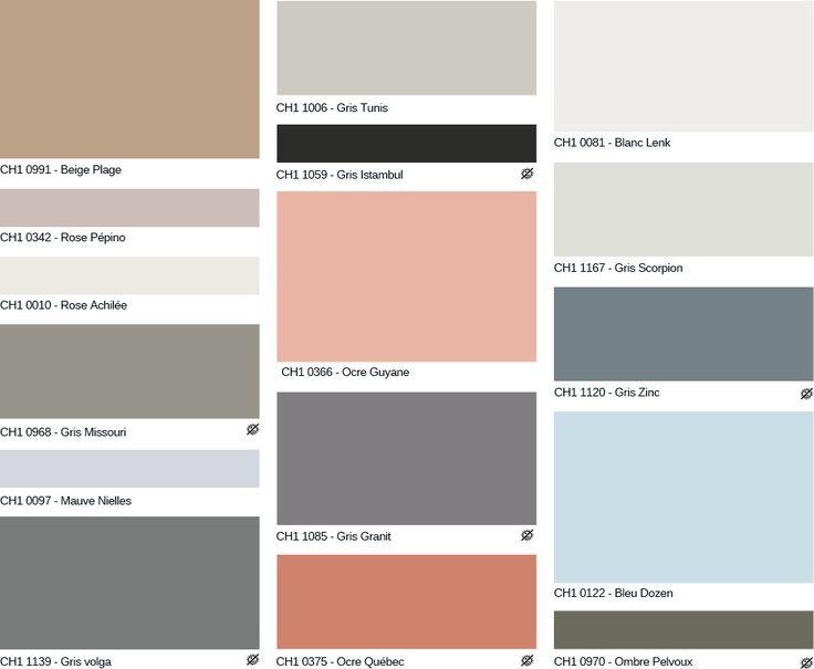 ver 1000 id er om nuancier peinture p pinterest. Black Bedroom Furniture Sets. Home Design Ideas