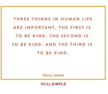 Inspiring words from Henry James.