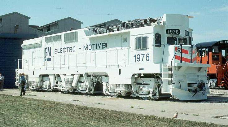 EMD GM10B - this was single 3000 HP prototype built 1976.