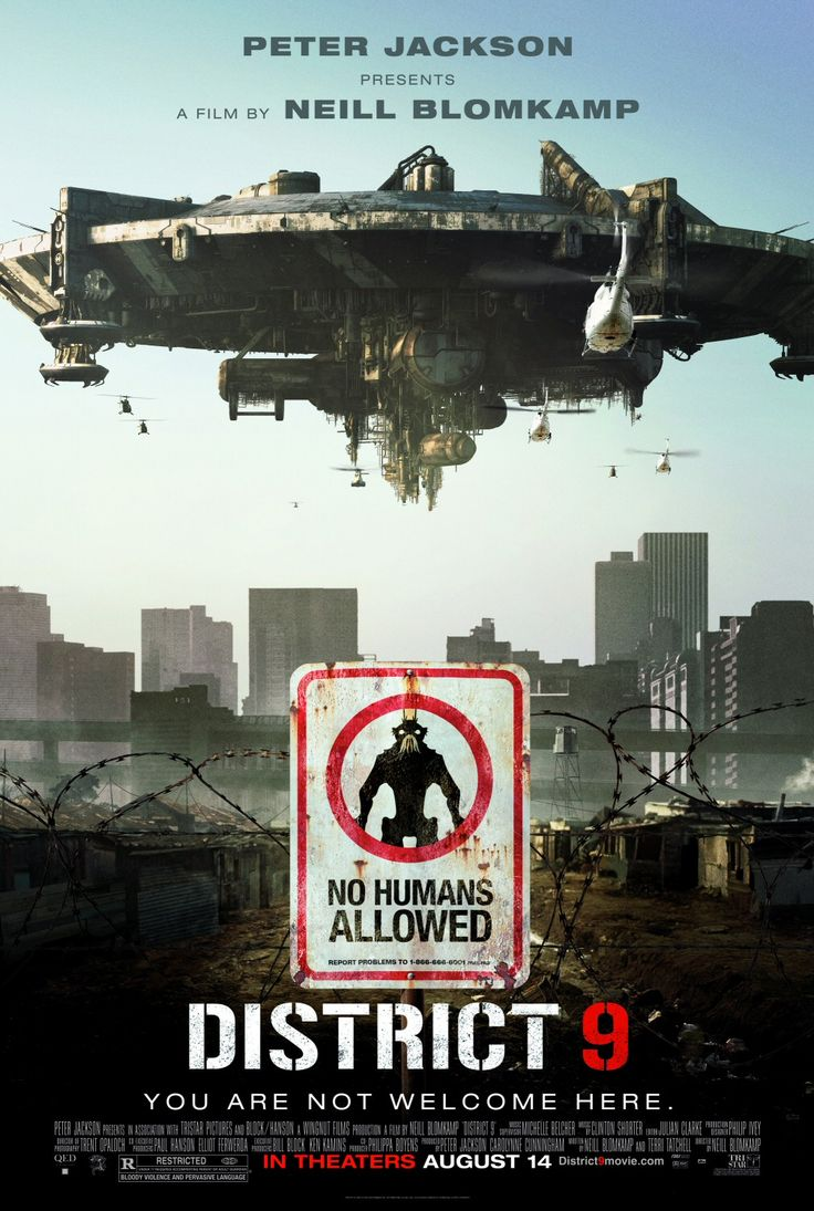 District 9 (2009) | Directed by: Neill Blomkamp / Starring: Sharlto Copley, Jason Cope, David James | sci-fi movies #scifimovie #sci-fi