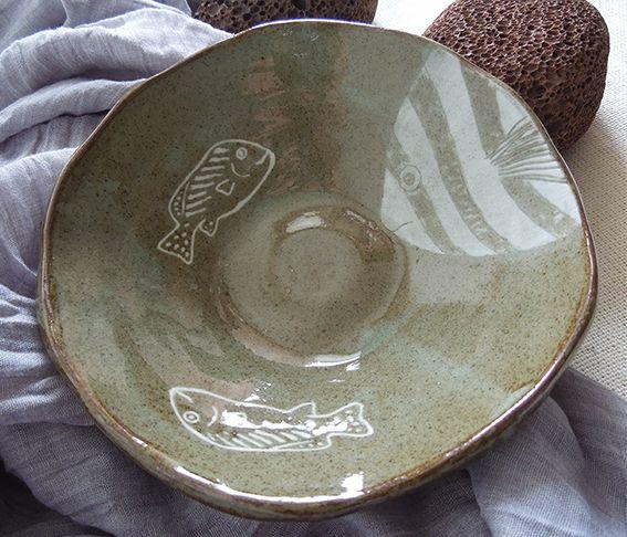 made by PAN Gongjakso 물고기 대접 fish bowl designize@gmail.com