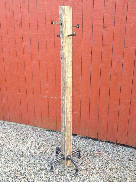 Rustic Industrial Coat Stand | Playa Del Carmen Rustic Industrial Lamps & Furniture