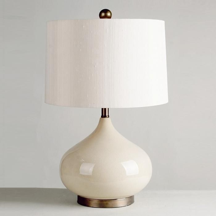 Maddox 1 light table lamp in crackled almond nebraska furniture mart