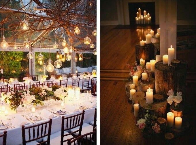 Lighting ideas for reception